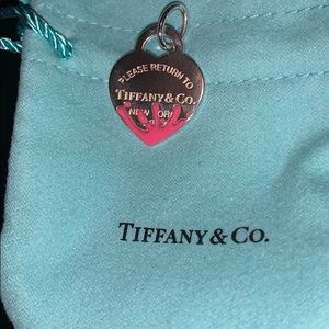 Return to Tiffany & co pink splash charm pendant